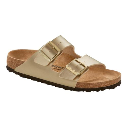 Birkenstock Women's Arizona Sandals - Narrow Gold.Brko