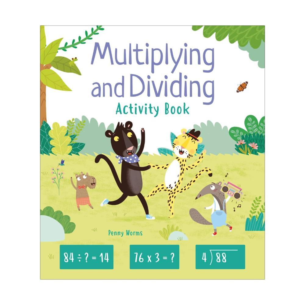 Multiplying And Dividing Activity Book By Penny Worms