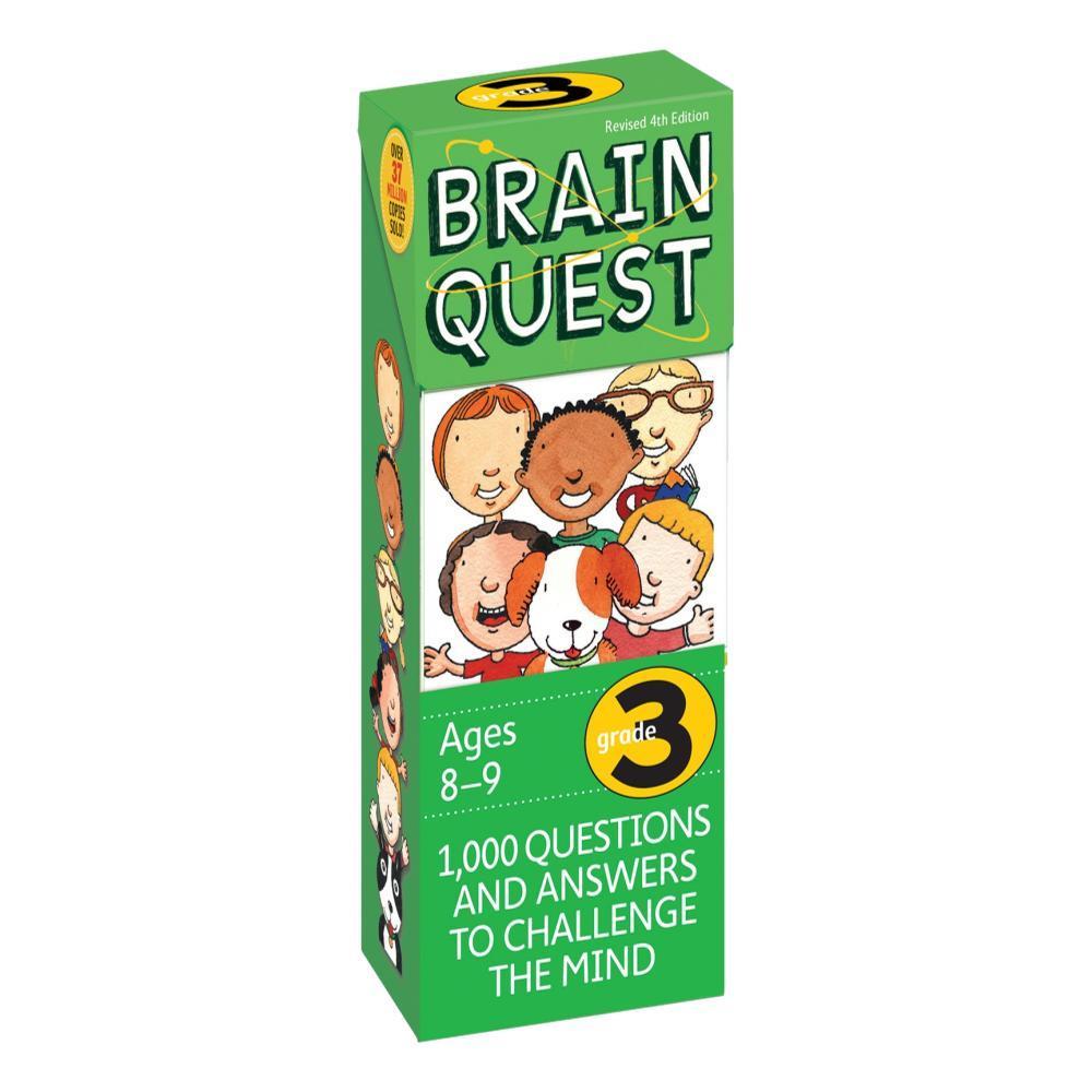 Brain Quest 3rd Grade Q & A Cards By Chris Welles Feder, Susan Bishay