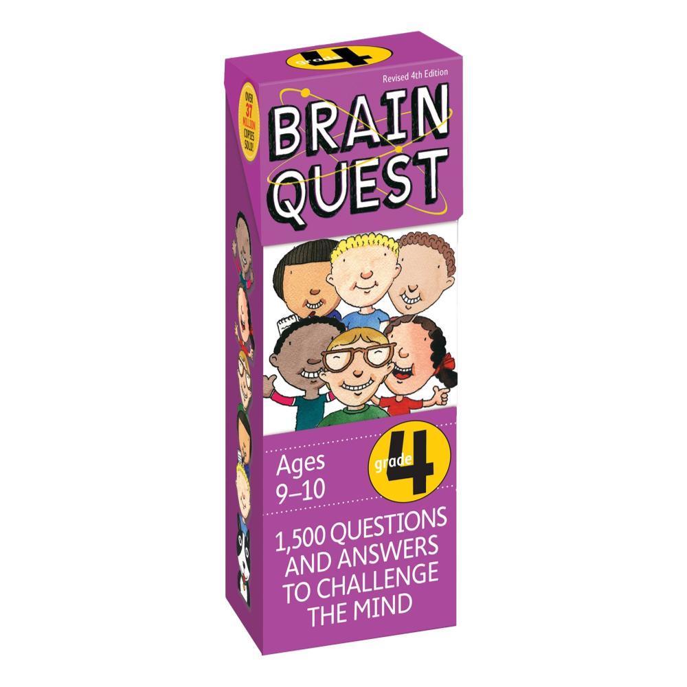 Brain Quest 4th Grade Q & A Cards By Chris Welles Feder, Susan Bishay