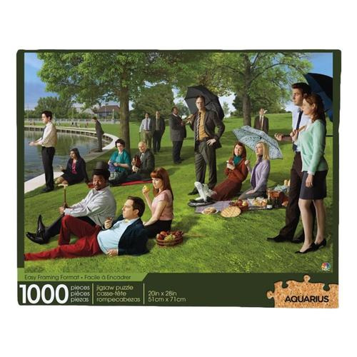 Aquarius The Office Sunday Afternoon 1000-Piece Jigsaw Puzzle