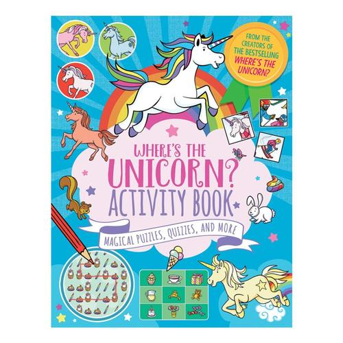 Where's the Unicorn? Activity Book by Imogen Currell-Williams