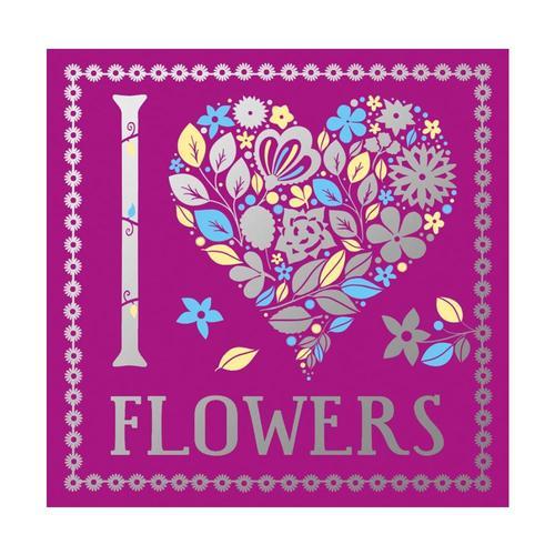 I Heart Flowers by Lizzie Preston