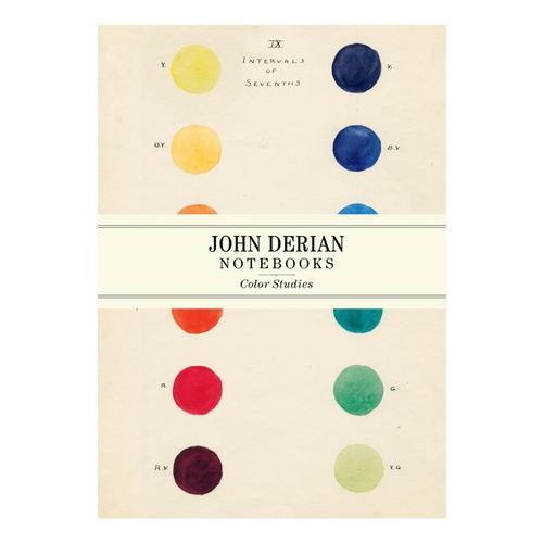 John Derian Paper Goods: Color Studies Notebooks by John Derian