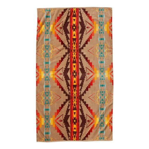Pendleton Sierra Ridge Spa Towel Tan