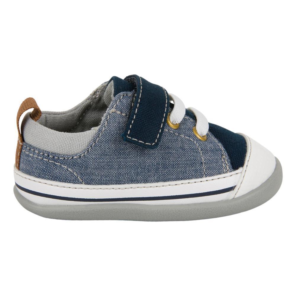 See Kai Run Toddlers Stevie (First Walker) Blue Denim Shoes BLUEDNM