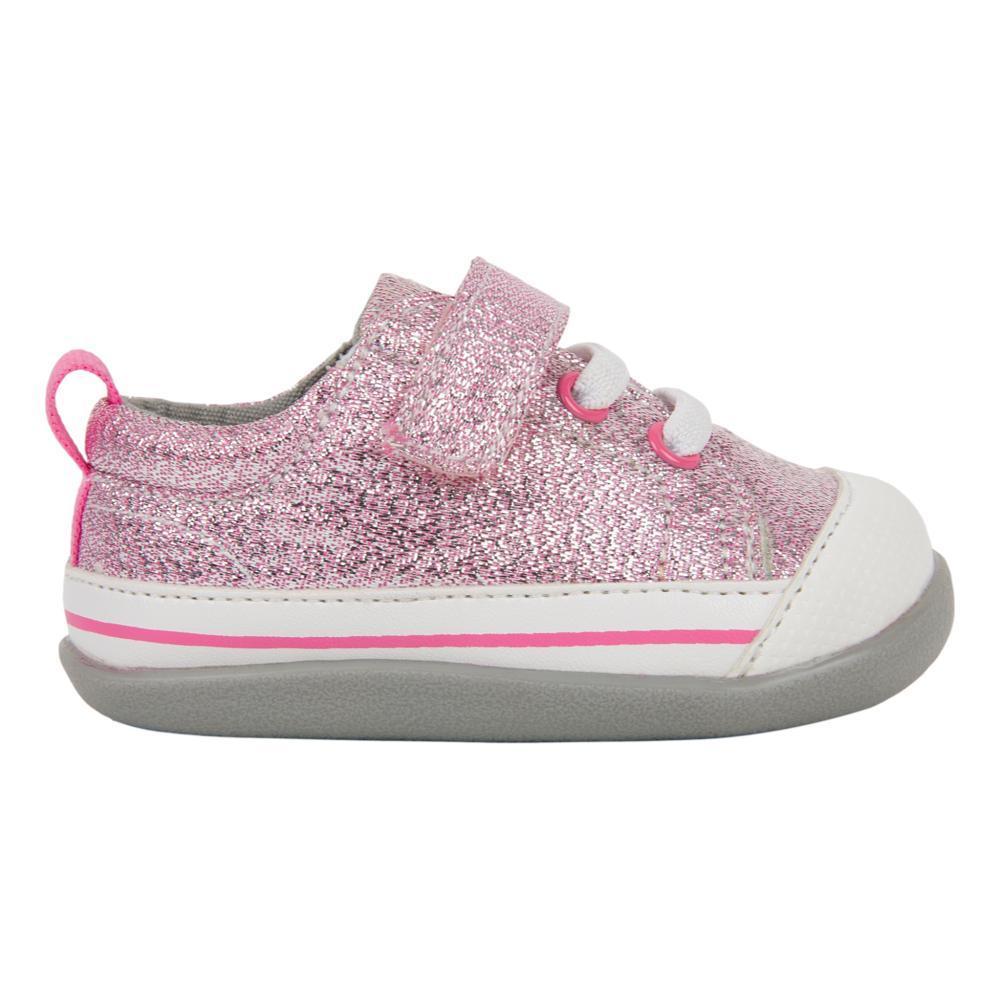 See Kai Run Toddlers Stevie (First Walker) Pink Glitter Shoes PINKGLTR