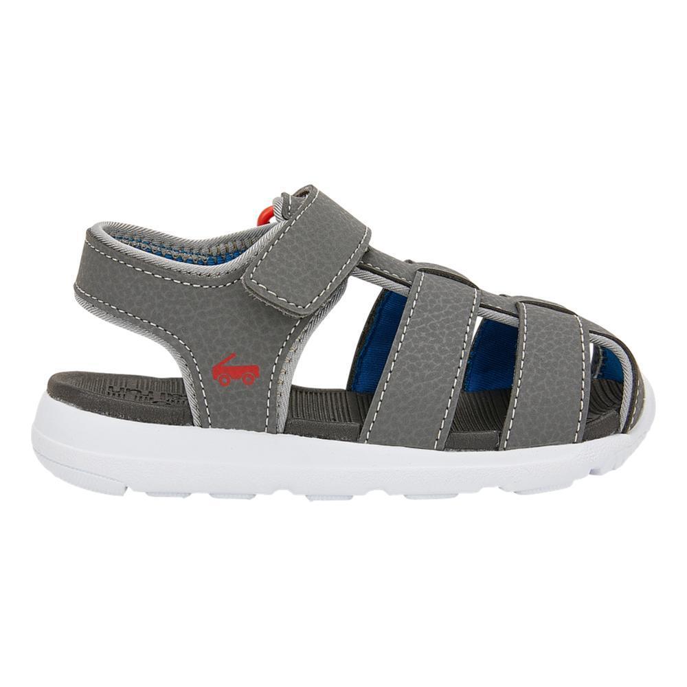 See Kai Run Toddlers Cyrus FlexiRun Gray Sandals GRAY