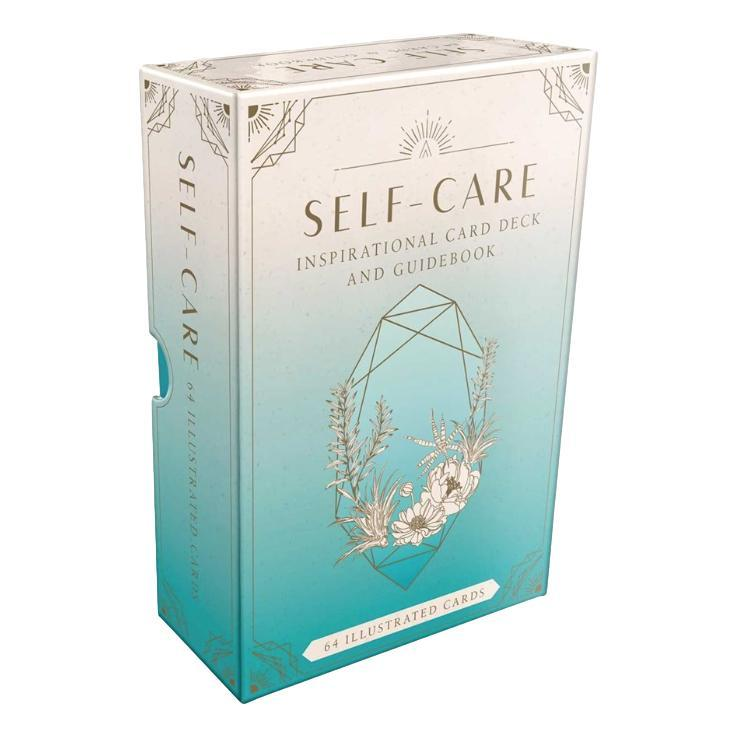 Self Care : Inspirational Card Deck And Guidebook By Caitlin Scholl