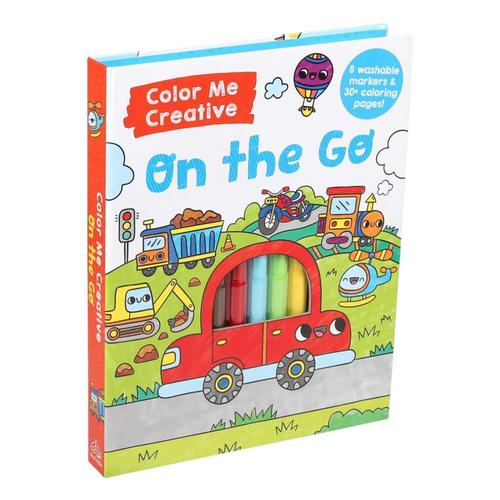 Color Me Creative: On the Go Activity Book by Silver Dolphin Books