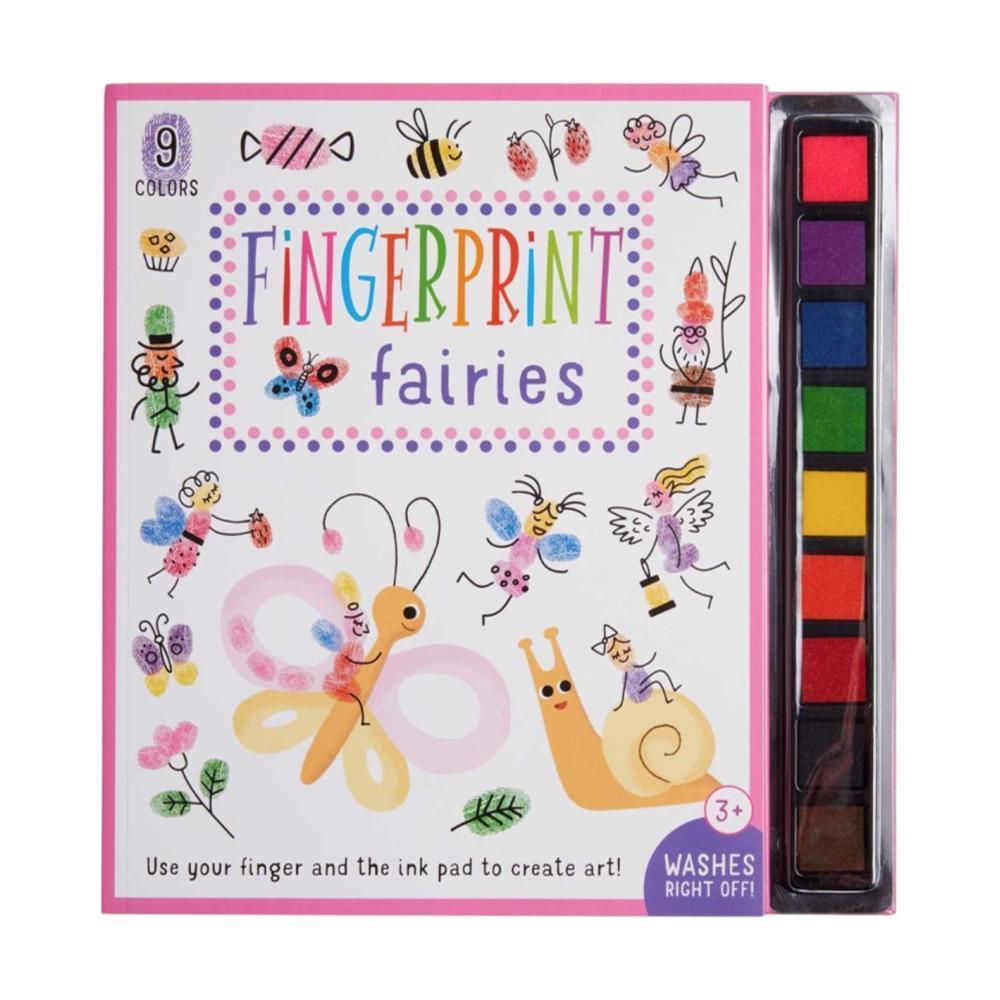 Fingerprint Fairies Activity Book By Insight Kids