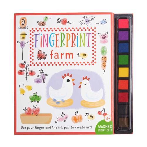 Fingerprint Farm Activity Book by Insight Editions