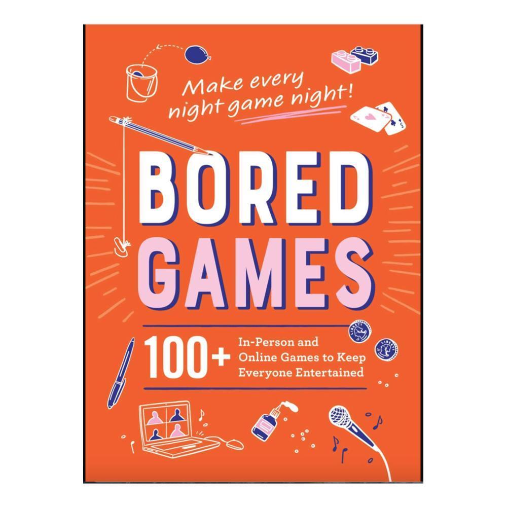 Bored Games By Adams Media