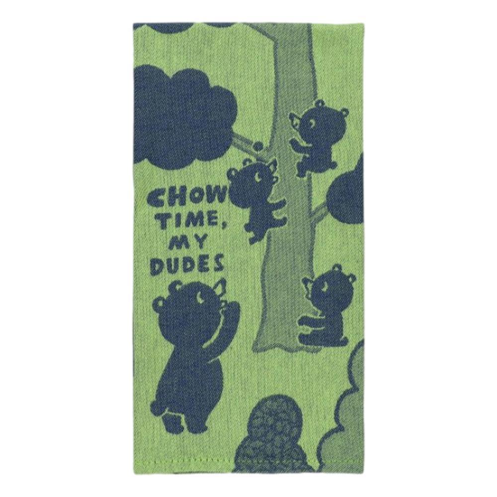 Blue Q Chow Time, My Dudes Dish Towel