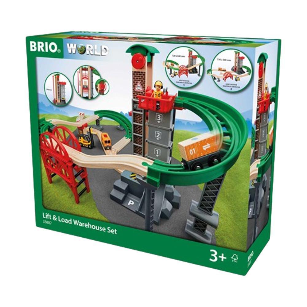 Brio Lift And Load Warehouse Train Set