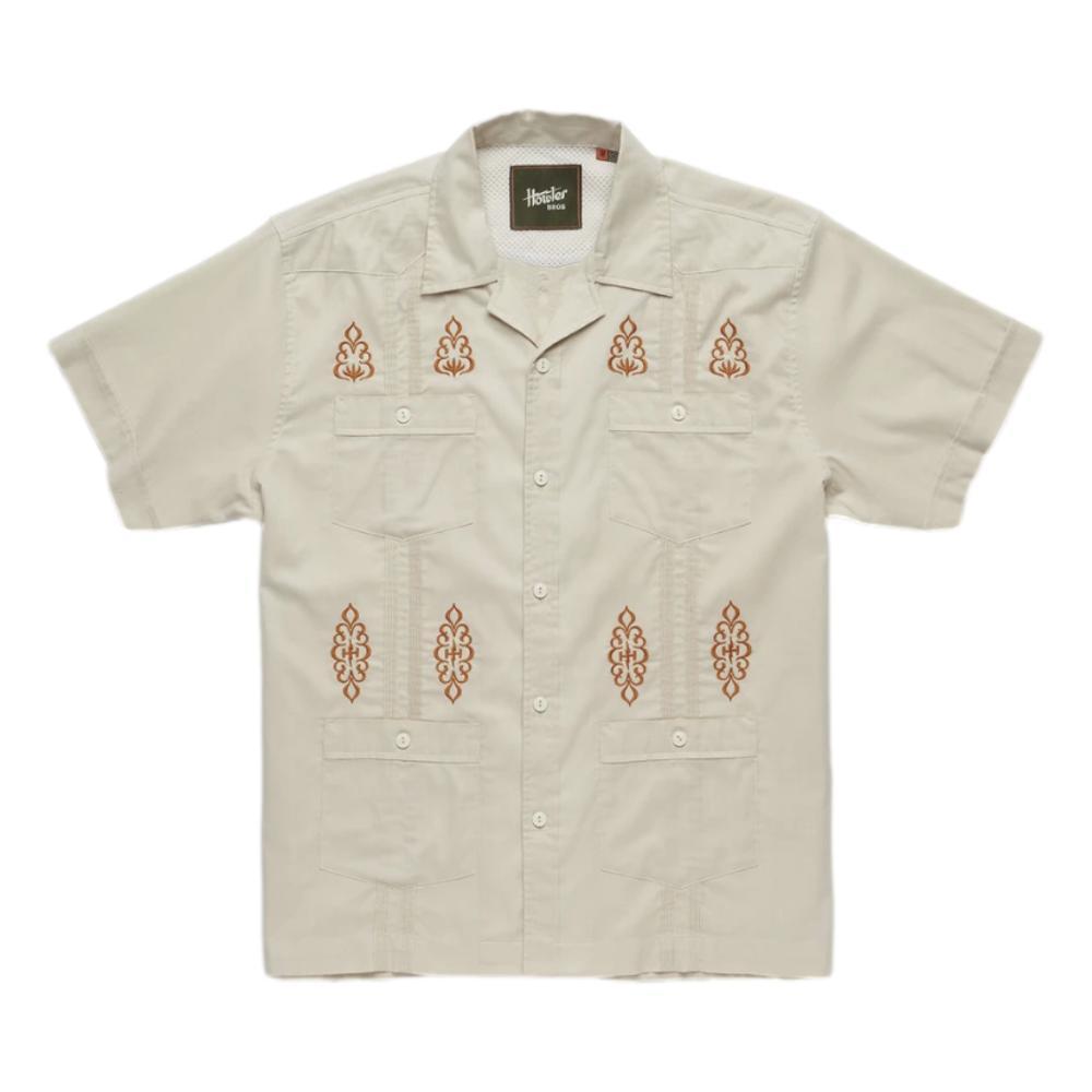 Howler Brothers Men's Guayabera Shirt RIVER_BED