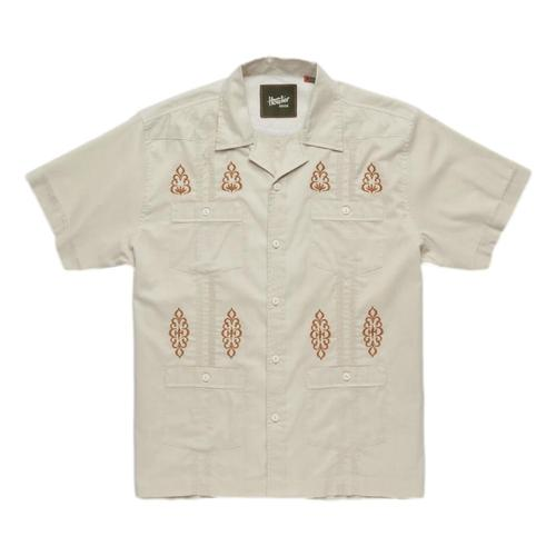 Howler Brothers Men's Guayabera Shirt River_bed