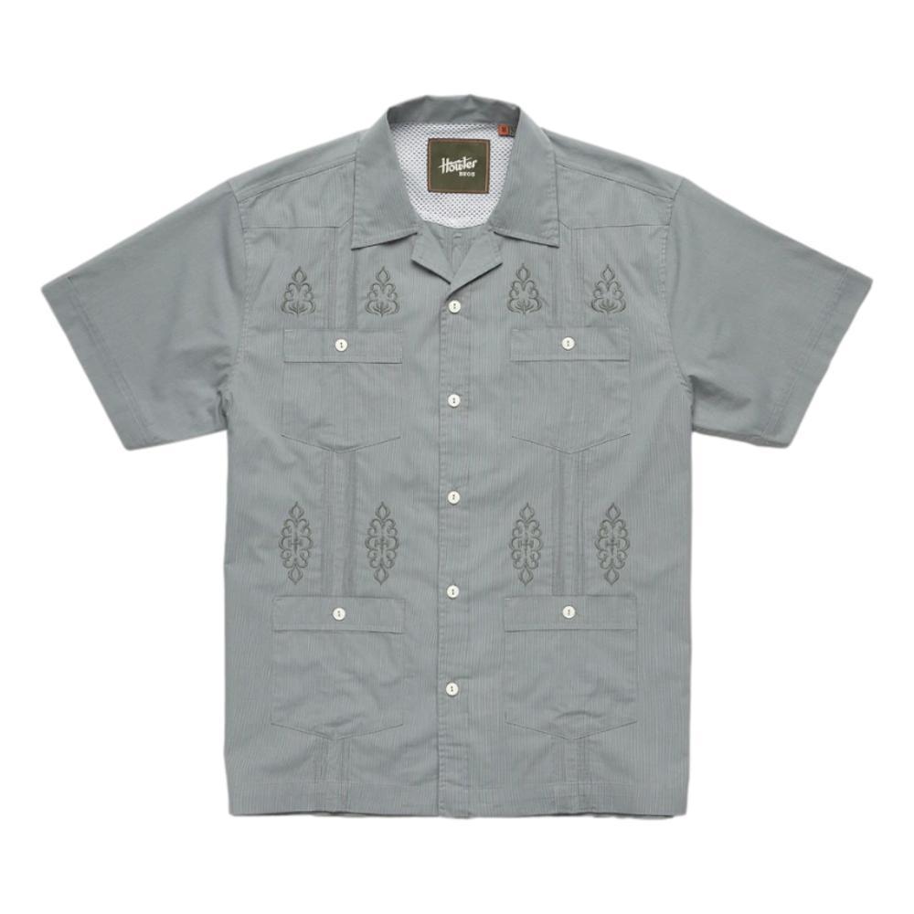 Howler Brothers Men's Guayabera Shirt SAGE_SAG