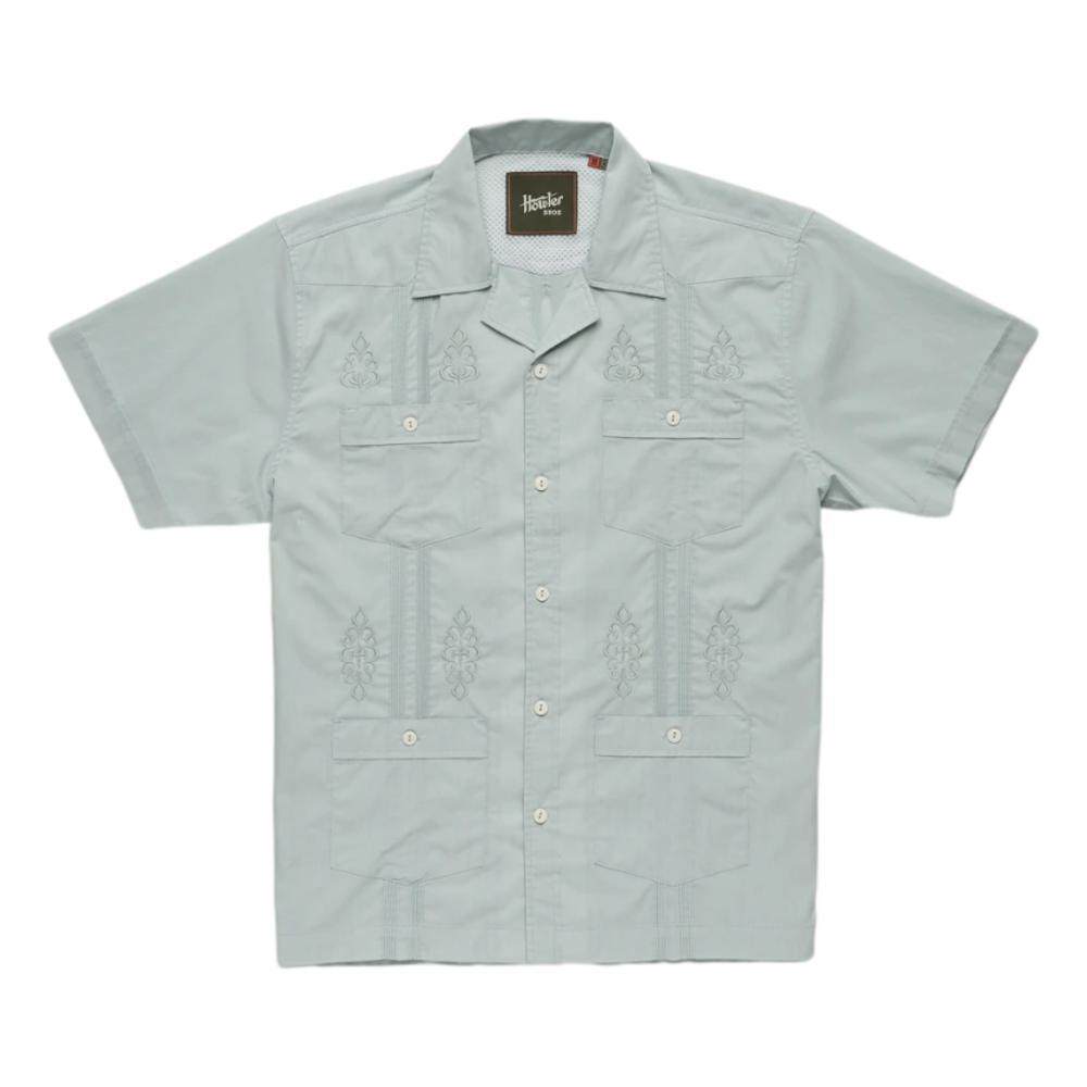 Howler Brothers Men's Guayabera Shirt SEAFORM_SAE