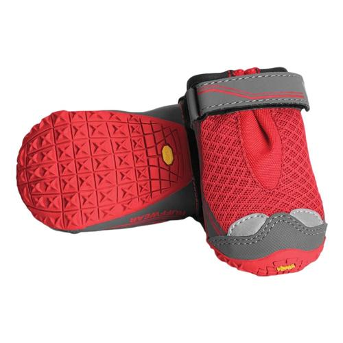 Ruffwear Grip-Trex Pairs - 2.0in. Dog Boots Red_currant