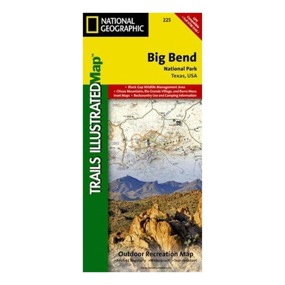 National Geographic Big Bend National Park: Trails Illustrated Map MAP