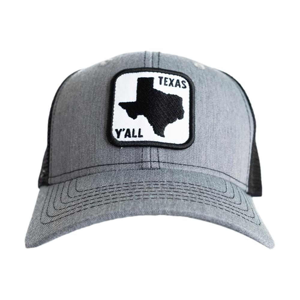 Tumbleweed Texstyles Texas Y'all Road Sign Patch Hat GRAY