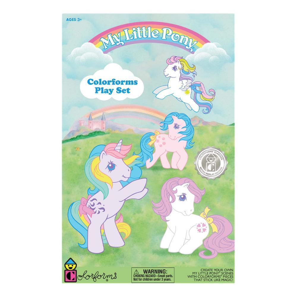 Playmonster Colorforms My Little Pony Activity Set