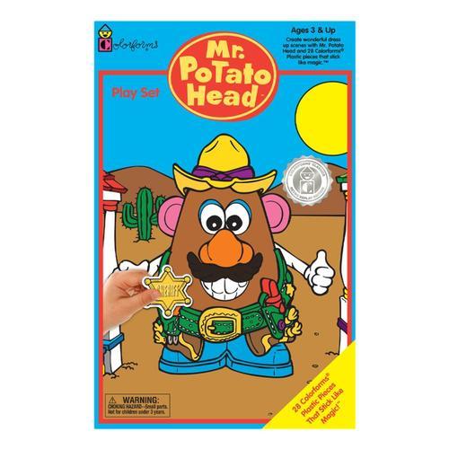 PlayMonster Colorforms Mr. Potato Head Activity Set