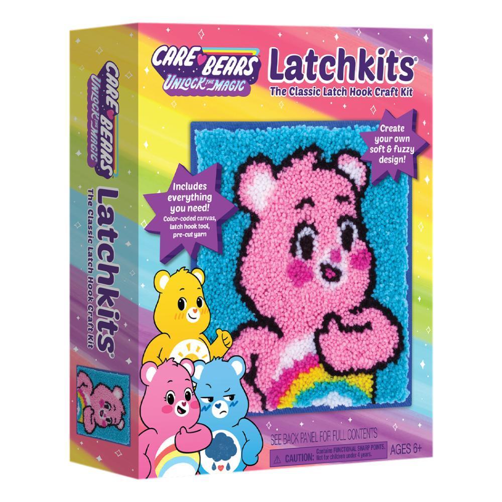 Playmonster Latchkits Care Bears Latch Hook Kits