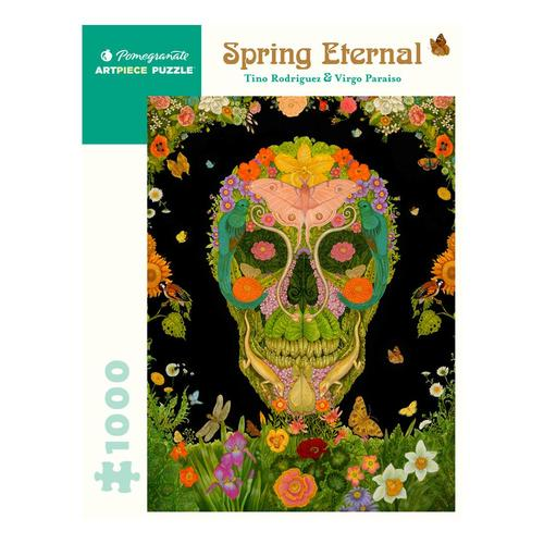 Pomegranate Tino Rodriguez and Virgo Paraiso: Spring Eternal 1000 Piece Jigsaw Puzzle