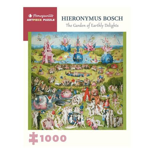 Pomegranate Hieronymus Bosch: The Garden of Earthly Delights 1000 Piece Jigsaw Puzzle