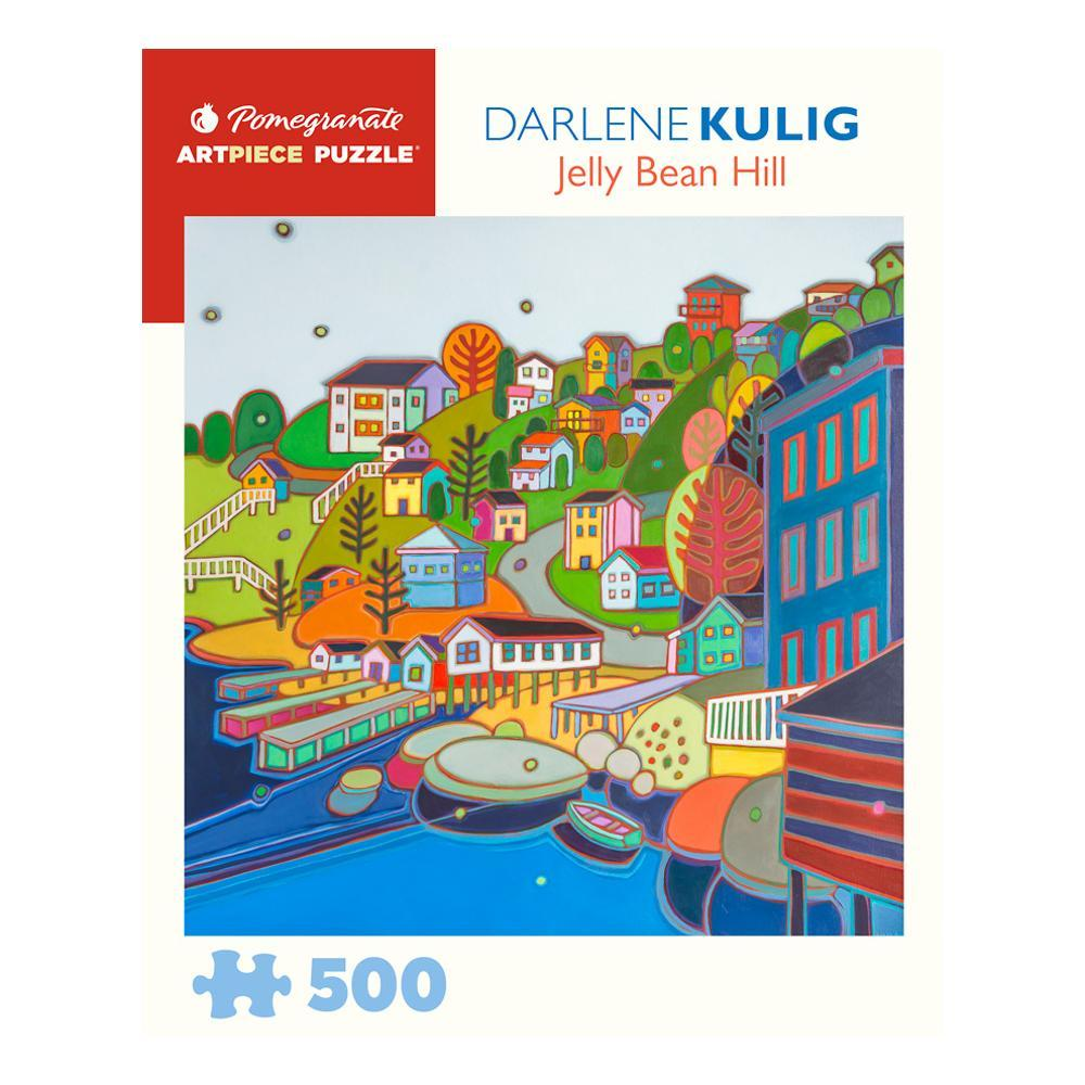 Darlene Kulig : Jellybean Hill 500 Piece Jigsaw Puzzle