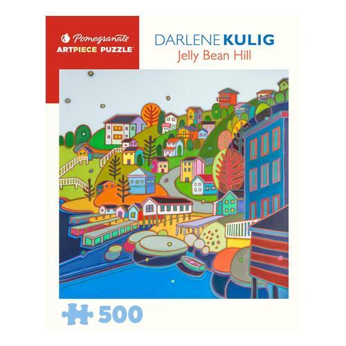 Darlene Kulig: Jellybean Hill 500 Piece Jigsaw Puzzle
