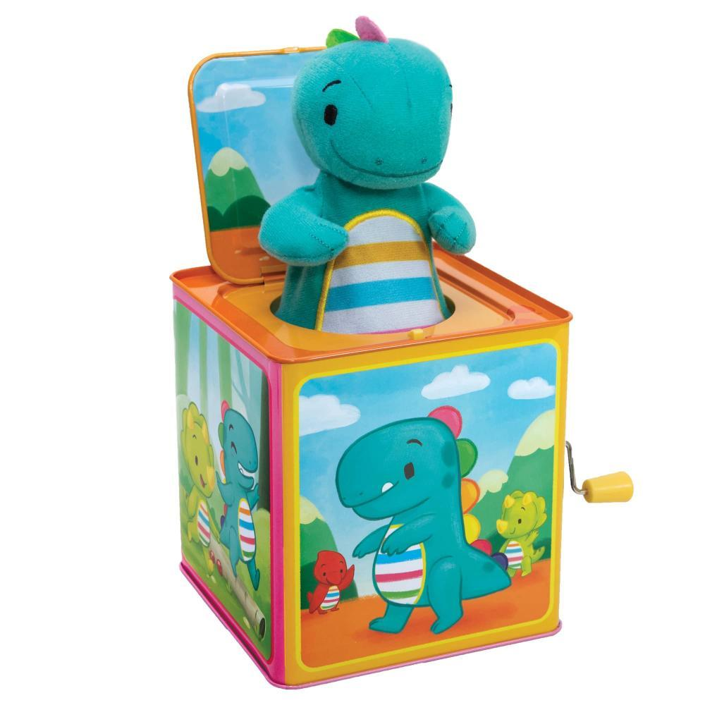 Schylling Baby Dino Jack In The Box Toy