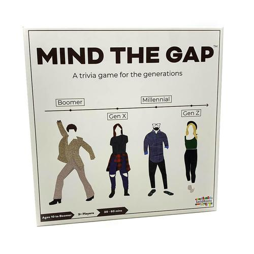 Solid Roots Mind the Gap Trivia Game