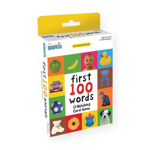 Briarpatch First 100 Words Matching Card Game