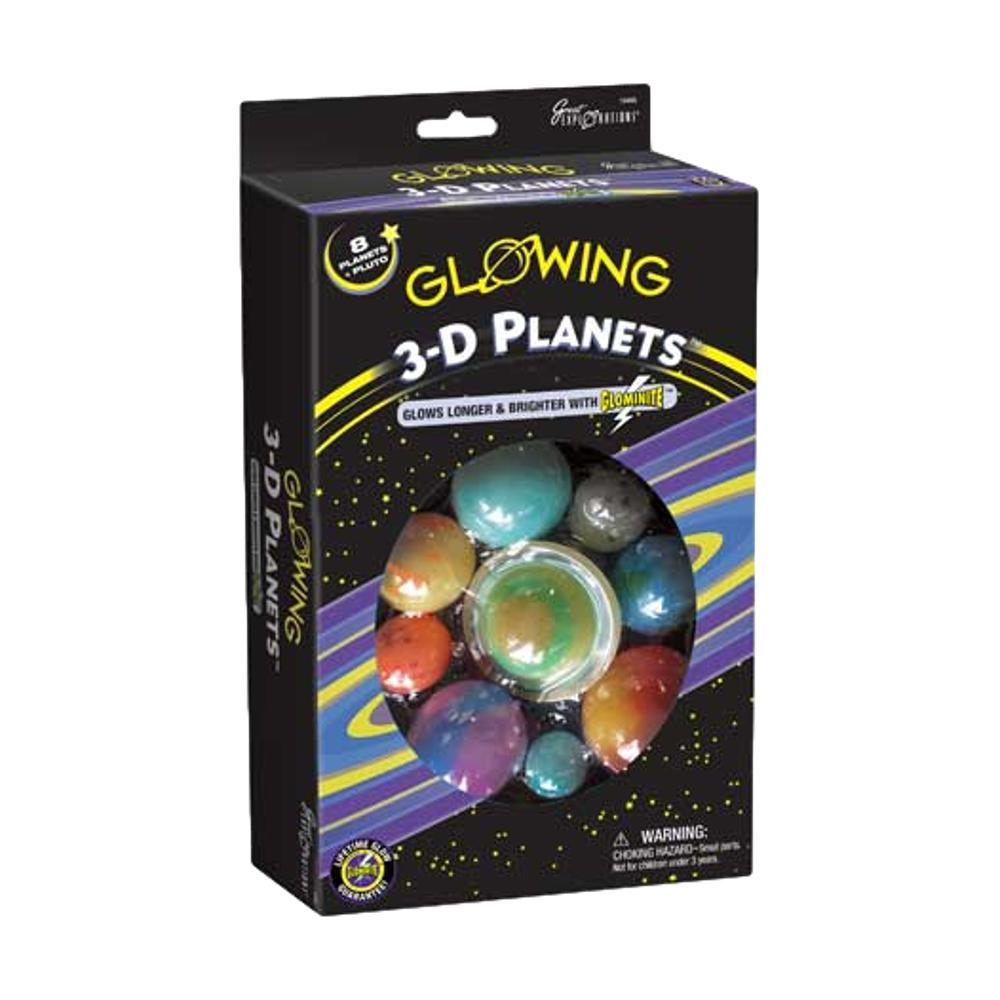 Great Explorations Glowing 3- D Planets