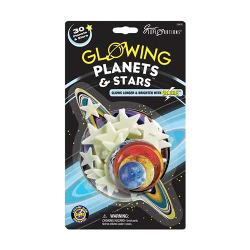 Great Explorations Glowing Planets and Stars Kit