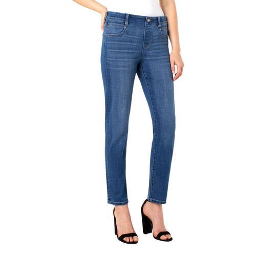Liverpool Women's Gia Glider Slim Cross Hatch Jeans - 29in inseam Arroyo