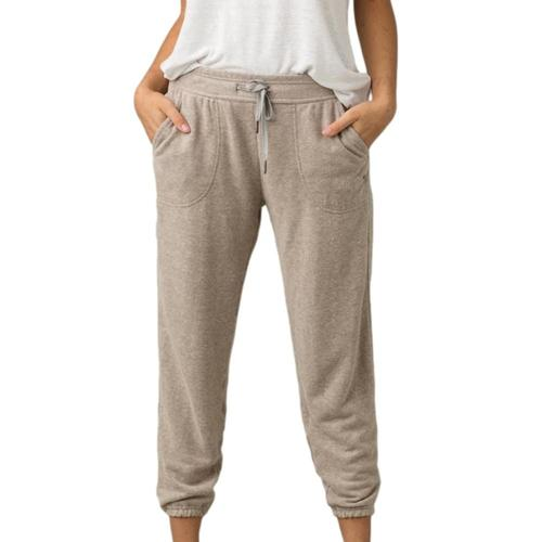 prAna Women's Cozy Up Ankle Pant Oatmealh