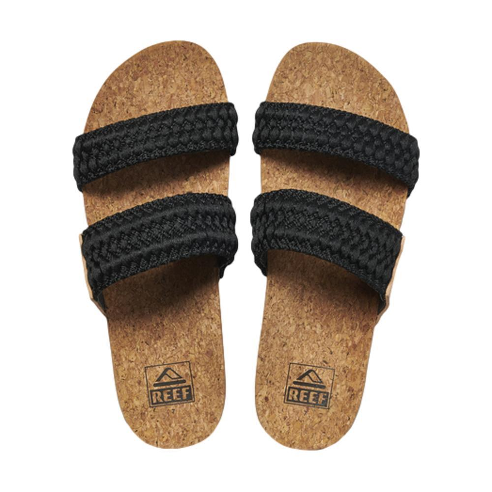 Reef Women's Cushion Vista Thread Cushion Sandals BLACK