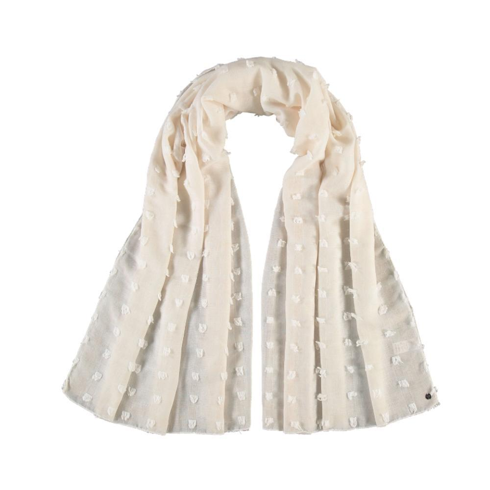 V. Fraas Textured Solid Polyester Wrap Scarf OWHITE_020