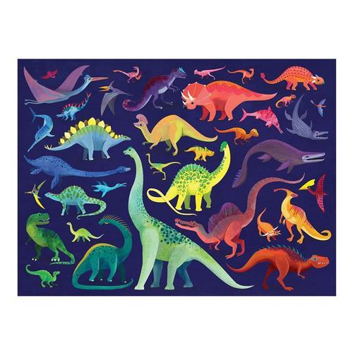 Crocodile Creek Family Dino World 500 Piece Jigsaw Puzzle