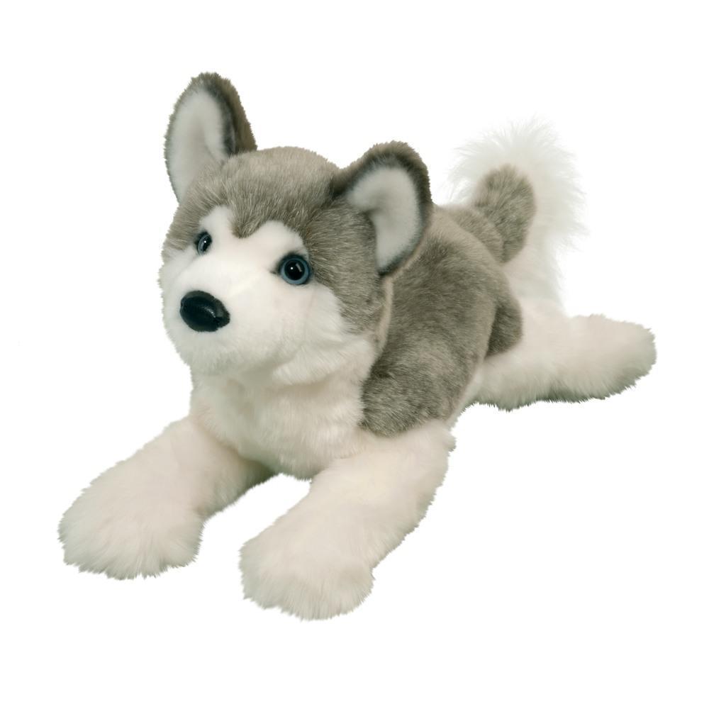 Douglas Toys Geno Dlux Husky Stuffed Animal