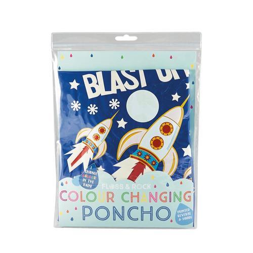 Floss & Rock Color Changing Poncho - Rocket Rocket