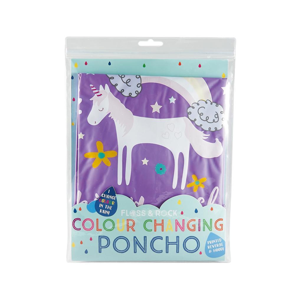 Floss & Rock Color Changing Poncho - Fairy Unicorn FAIRYUNCRN