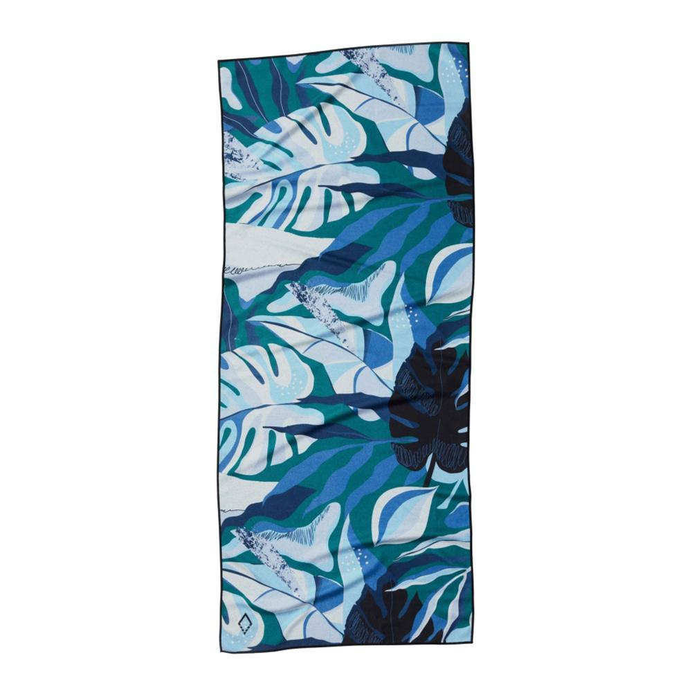 Nomadix Monstera Blue Towel MONSTERA_BLUE