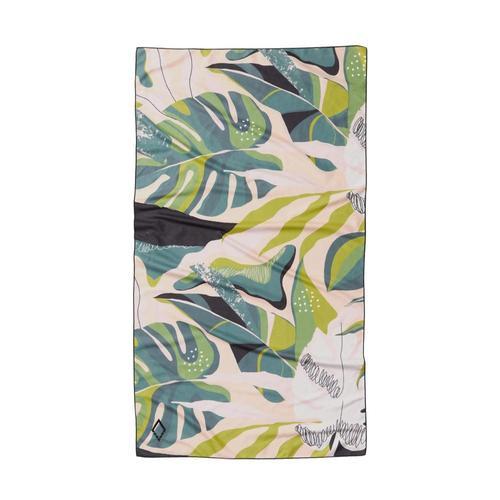 Nomadix Monstera Green Ultralight Towel Monstera_grn_pnk
