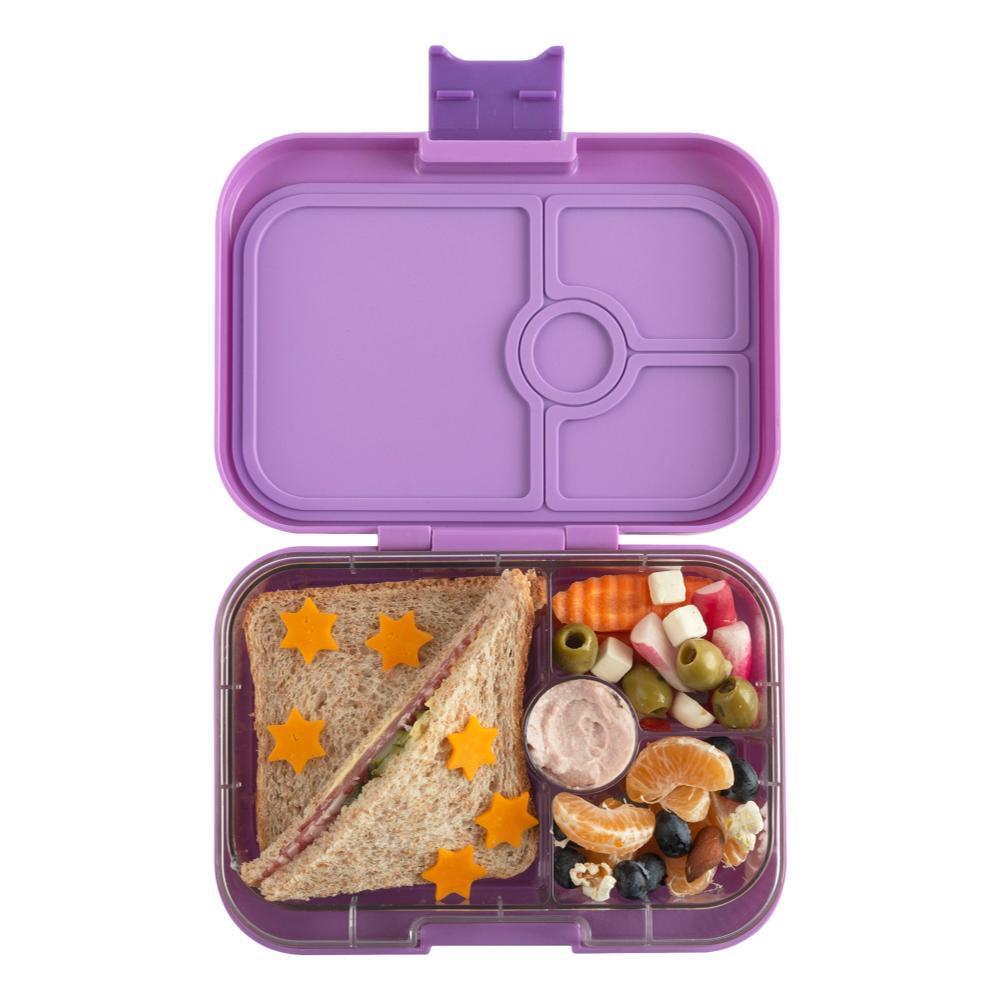Yumbox Kids Leakproof Sandwich Friendly Bento Box DRMYPURPL