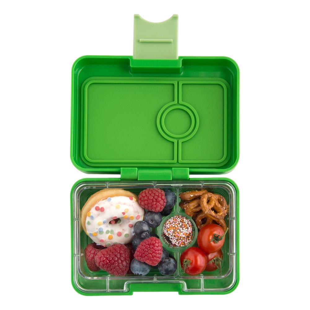 Yumbox Kids Leakproof Compact Snack Box CLNTRGREEN